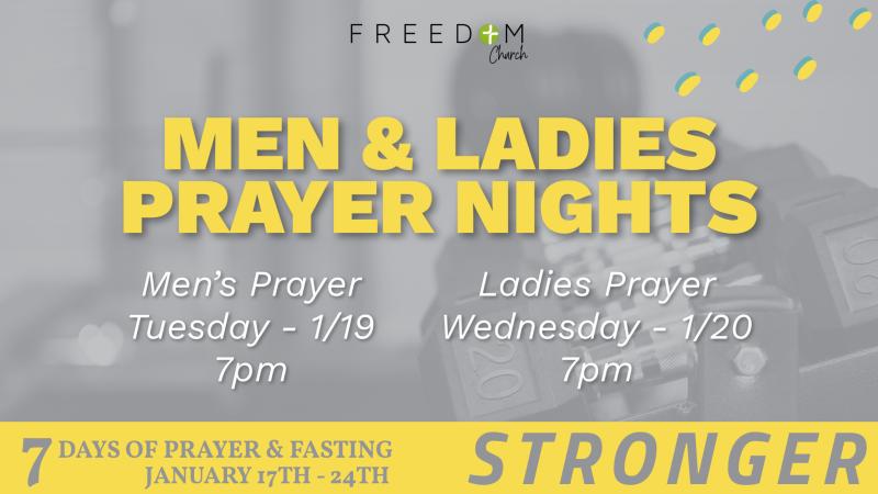 Men's Night of Prayer